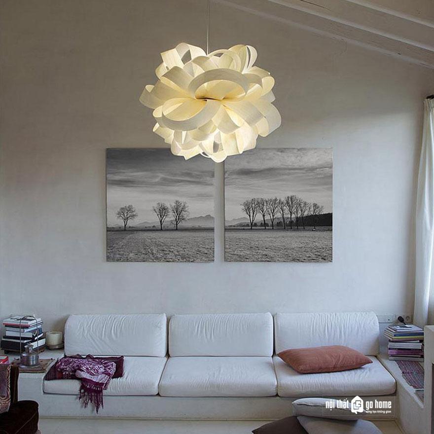 mẫu đèn trần trang trí 18