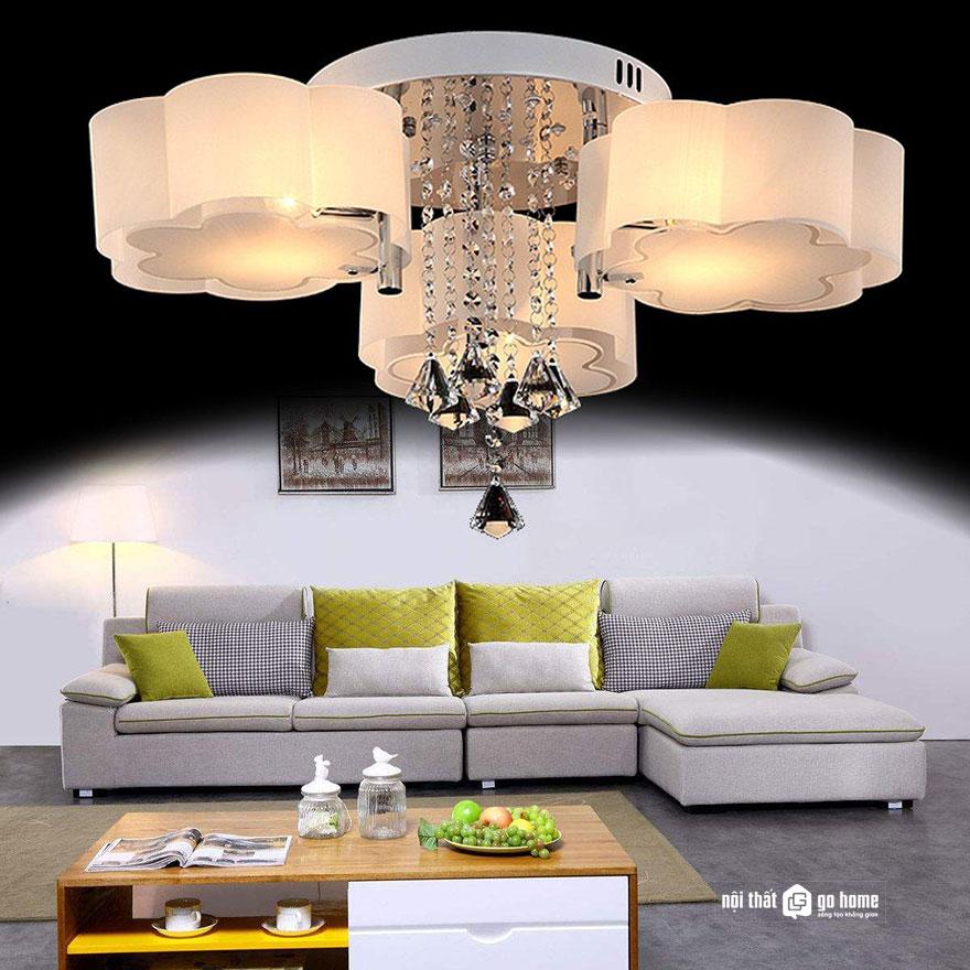 mẫu đèn trần trang trí 6