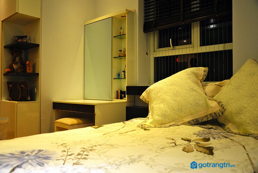 Vị trí nên đặt bàn trang điểm phòng ngủ