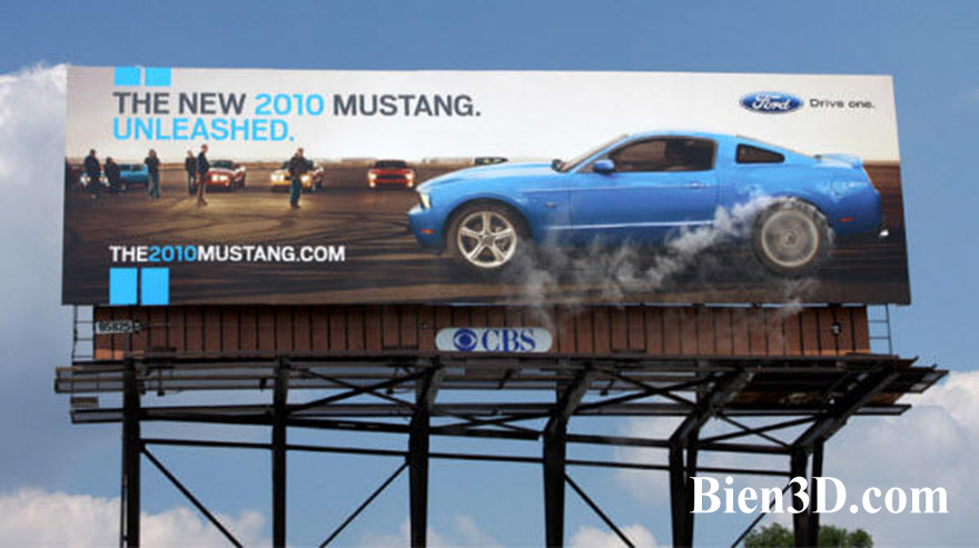 Ford-Mustang-Burnout