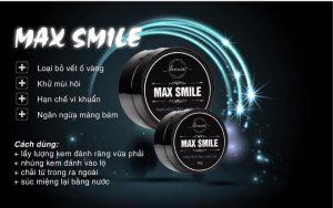 Than hoạt tính trắng răng Max Smile