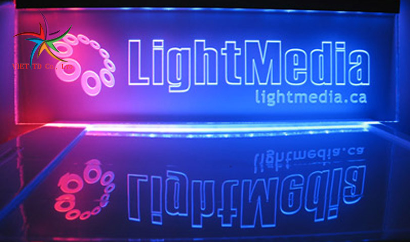 Mica 3D-led sign