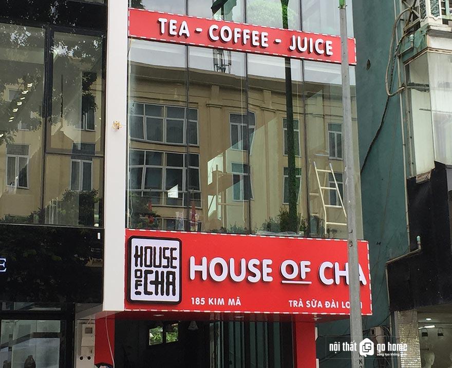 Mẫu bảng hiệu quán trà sữa 12