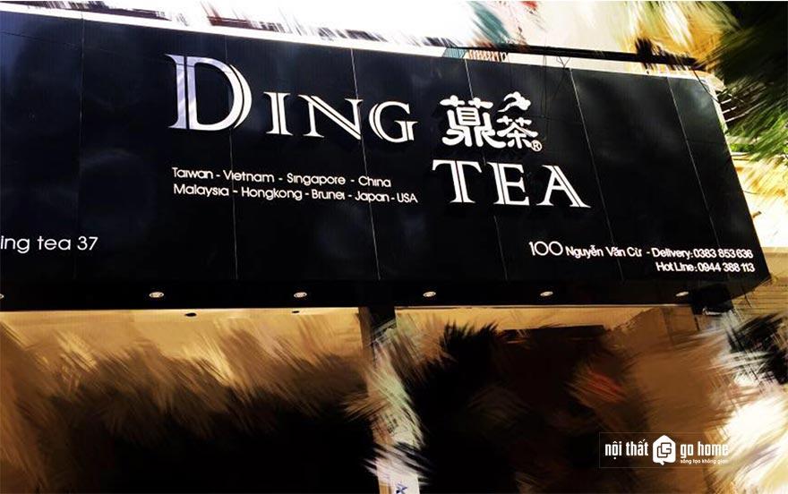Mẫu bảng hiệu quán trà sữa 8