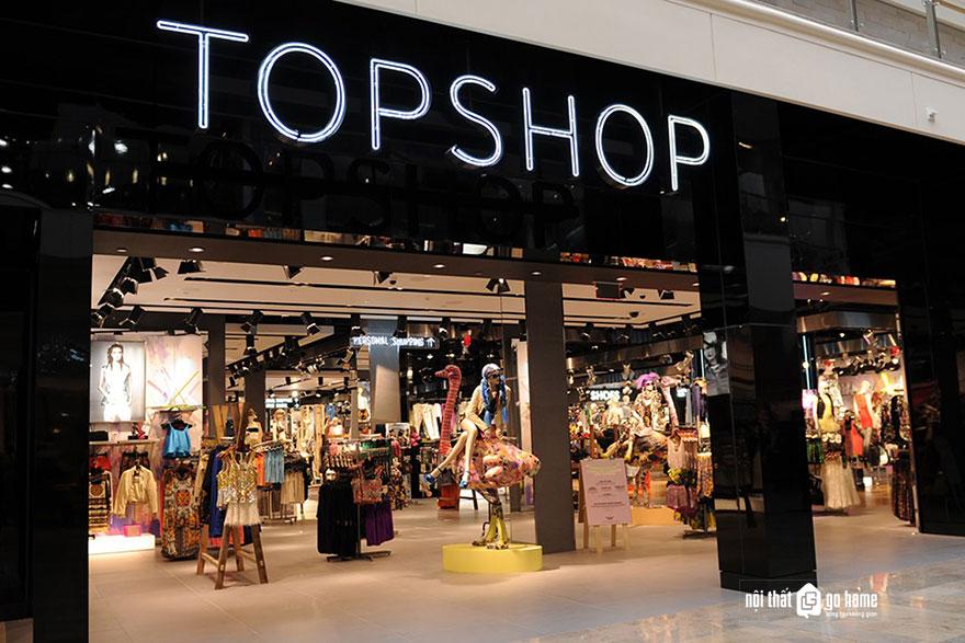 bảng hiệu shop thời trang nổi tiếng 7