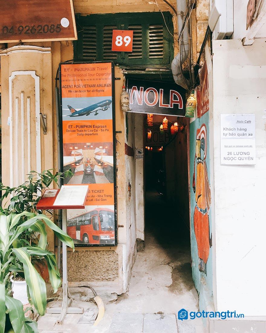 Mẫu biển hiệu quán cafe đẹp 9