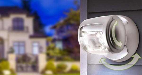 Những lý do nên lắp đặt đèn cảm ứng chống trộm trong nhà