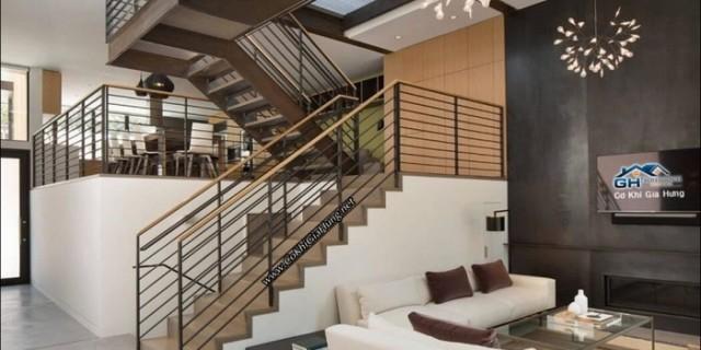 Bên ngoài cầu thang trong nhà cũng cần đúng phong thủy để hút tài lộc