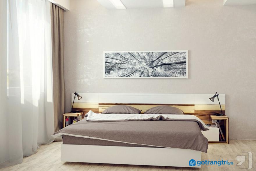Chiều dài x chiều rộng tiêu chuẩn của giường ngủ