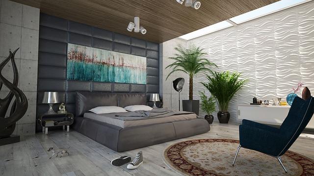 Trang trí phòng ngủ đẹp cùng các loại nội thất và đồ trang trí khác