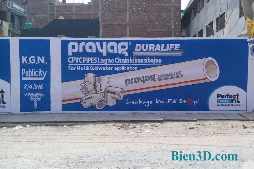 quảng cáo sơn tường
