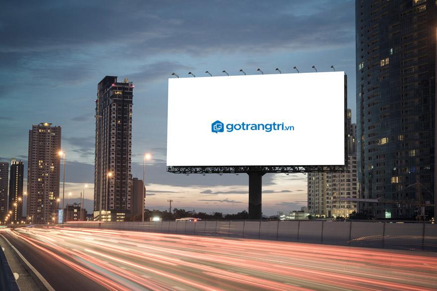 Kích thước bảng hiệu quảng cáo