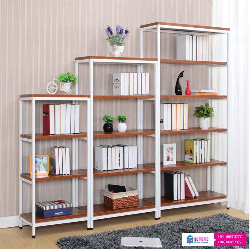 Tủ sách gỗ công nghiệp giá rẻ